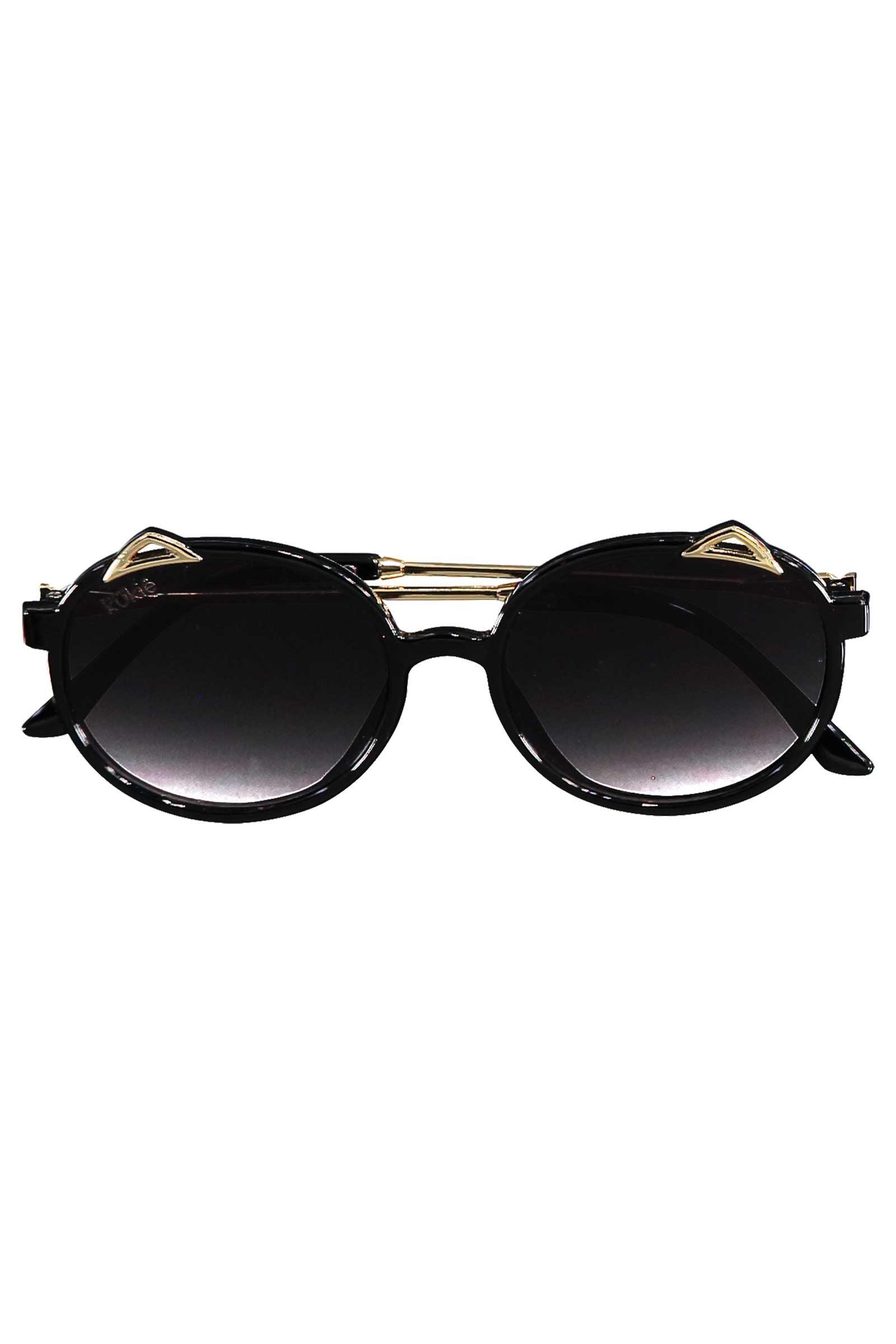Óculos de Sol Kukie Preto Gatinha