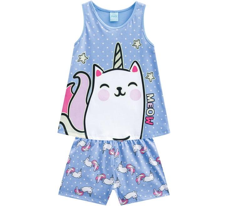 Pijama Infantil Azul Kyly