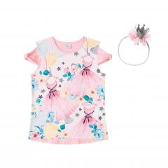 Blusa Infantil Rosa Princesa Infanti