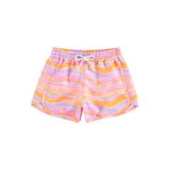Shorts Infantil Lilimoon Colorido Estrelinha