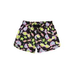 Shorts Infantil Lilimoon Preto Óculos