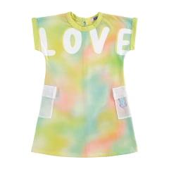 Vestido Kukie Verão Colorido Love
