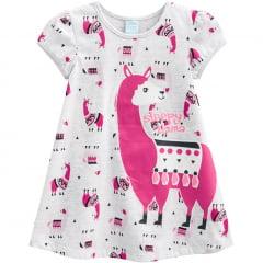 Pijama Camisola Infantil Lhama Kyly