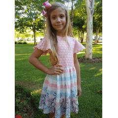 Vestido Infantil Renda Infanti