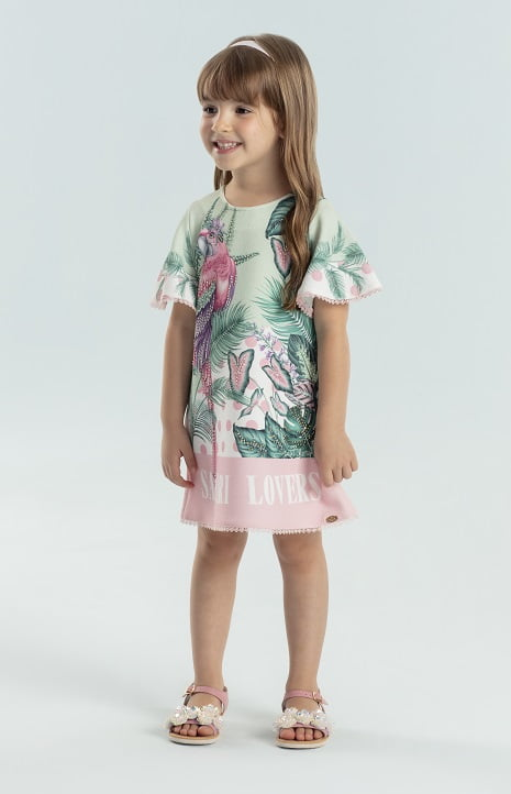 Vestido Petit Cherie Safari