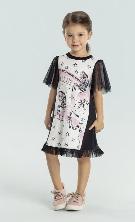 Vestido Petit Cherie Zebrinha